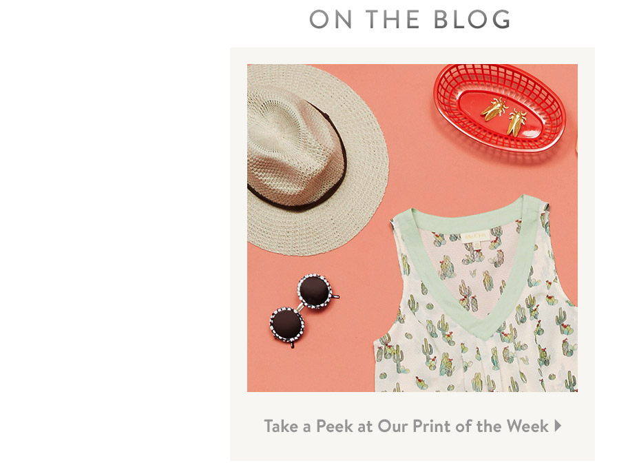 On the Blog. Take a Peek at Our Print of the Week.