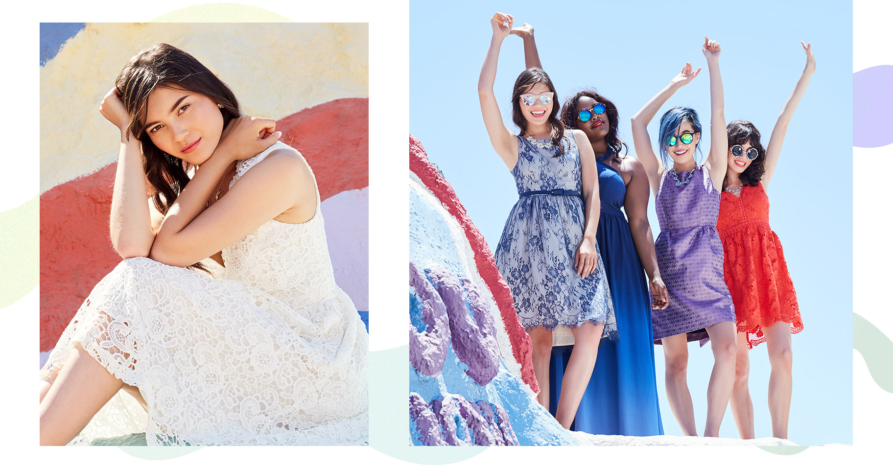 All for Love & Love for All. Unite to celebrate the big day in styles that exude glamour & grace.