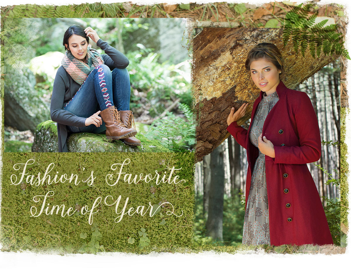 Fashion's Favorite Time of Year. Shop the Styles of the Season >