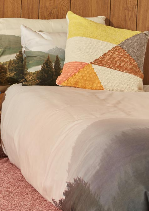 Livin' the Dream. Shop Blissful Bedding.