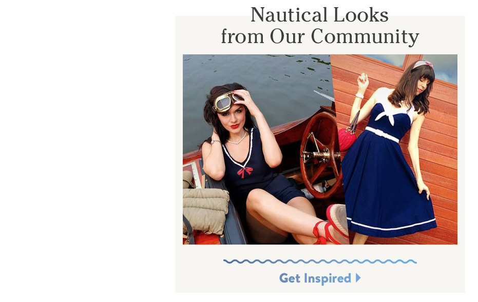 Nautical Looks from Our Community. Get Inspired.