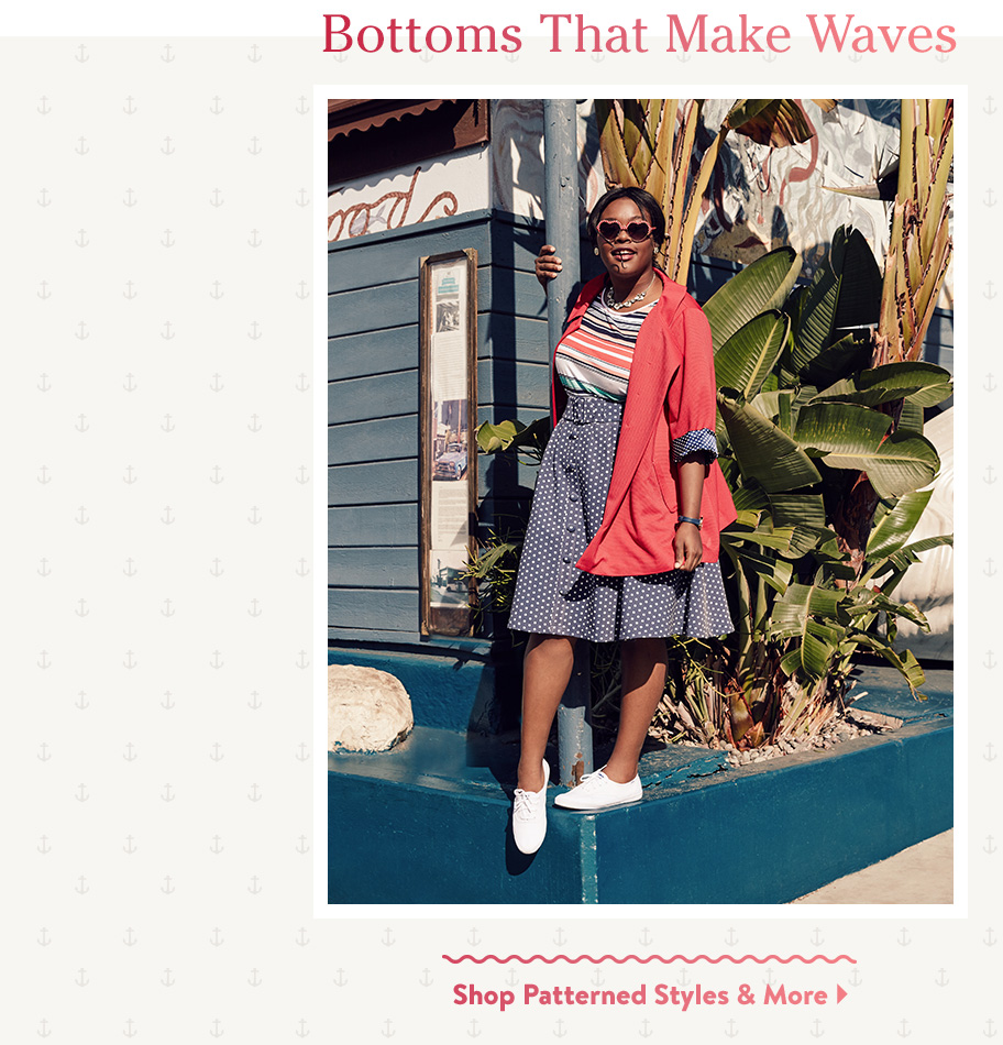 Bottoms That Make Waves. Shop Patterned Styles & More