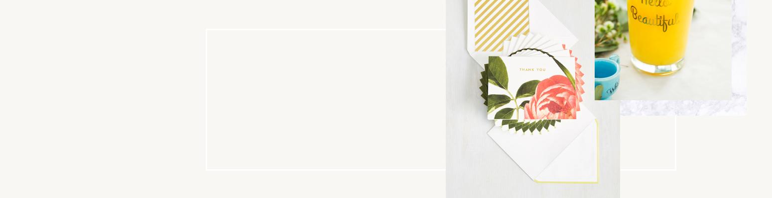 'Hello Beautiful' glass & gorgeous Wedding Invitations