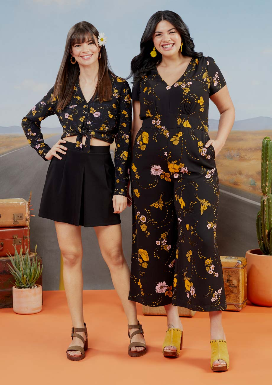 Lady Floral Campaign Photo