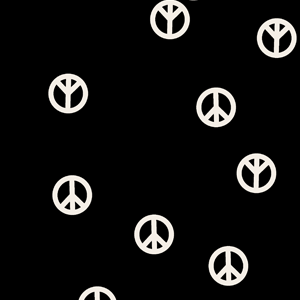 Peace Sign Swatch